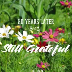 Still grateful: Nearly died, but didn't