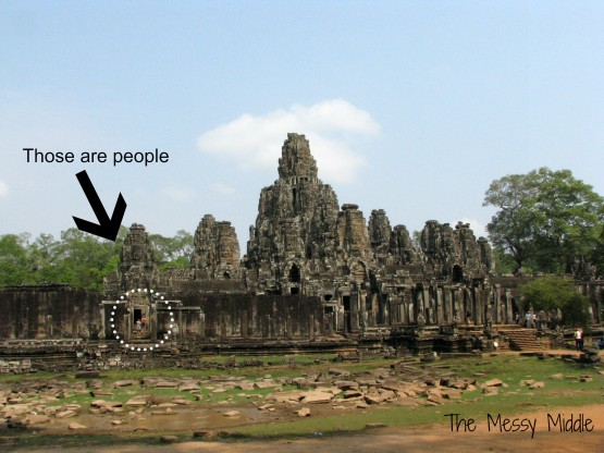 Though not technically Angkor Wat, this give an over arching view