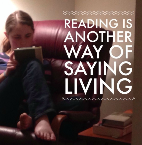 Reading is another way