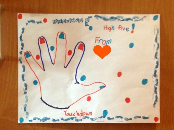High five for Denver