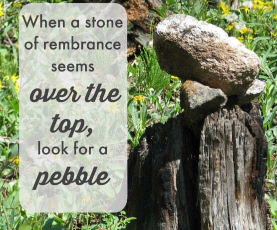 Pebble of remebrance