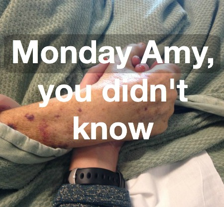 Monday Amy feature