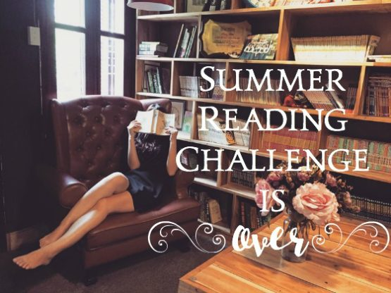 Summer Reading Challenge is OVER