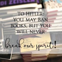 How many books did Hitler burn?