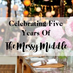 Five years ago this week The Messy Middle . . .