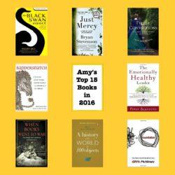 My top 15 books in 2016