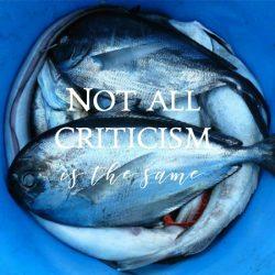 4 ways to respond to criticism