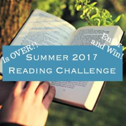 Summer 2017 Reading Challenge is Over {Enter and win}